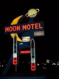 Tumblr, UFO, the truth is out there, Moon, Motel
