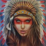 Native american by sandmannder3-d7yzus3