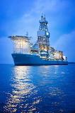 Oil Drillship Pacific Santa Ana