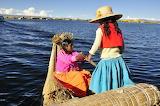 woman at Titicaca Lake, Peru
