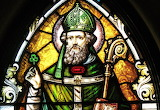 Saint Patrick Stained Glass HD