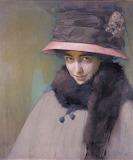 Alfred Eberling, Tamara Karsavina, before 1917