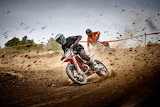 Moto Cross race in a local championship