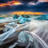Ice Beach, Iceland...