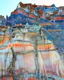 Salt mountain in Iran