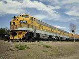 Diesel Locomotive Train Rio Grande 5771