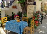 Kafenion in Mithi village