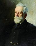 Portrait of Dr MT Sadler by Charles Wellington Furse