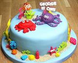 George's first birthday cake