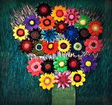 #Flower Power Bouquet Tapestry