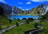 Mt Pinatubo Phillipines after eruption