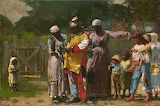 Dressing for the carnival~ Winslow Homer