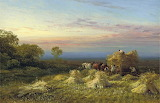George Cole, At the End of the Day, 1880