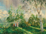 "Konstantin Somov, ""The Rainbow»"