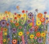 field of flowers, Gary Meeke