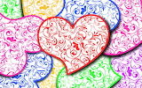 #Colorful Hearts