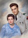 Elvis & Gladys Presley
