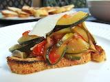 ^ Zucchini Crostini