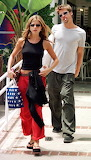 Jen Aniston & Brad Pitt