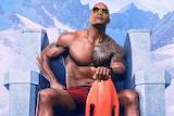 Dwayne Johnson- Baywatch