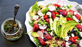 #Avocado Strawberry Salad