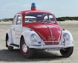 1962 Volkswagen VW Police Cop Car Automobile Vehicle
