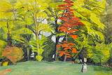 Balmungo Garden Autumn - Wilhelmina Barns-Graham