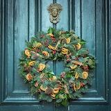 ^ Christmas wreath