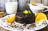 Sacher, chocolate cake, dessert