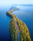 Nature's bridge in Finland