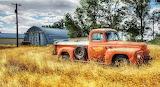 Old Vintage Pickup Truck