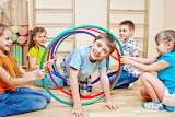 Children-Playing-an-Indoor-Obstacle-Race