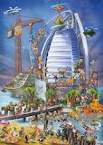 Costruendo Burj Al Arab