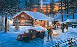 Winter Cabin~ KenZylla