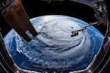Hurricane Florence made by NASA from ISS NASA