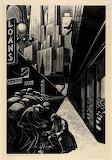 Clare Leighton, Bread Line, New York, 1932