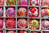 Colours-Colorful-Decorated Cotton Balls-Traditional Crafts-Yanag