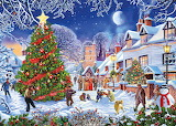 The Village Christmas by Steve Crisp...