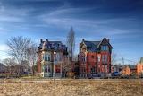 Surviving Mansions of Brush Park, Detroit