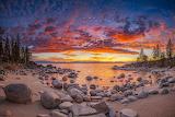 Secret-cove-sunset-landscape-lake-nature-by Photographer ABE BL