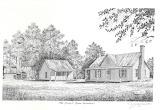 Brown Farmstead Sketch