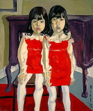 Alice Neel: The De Vegh Twins (1975)