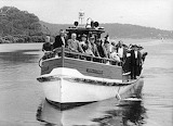 Wagstaff ferry on its last run to Woy Woy 1967 CCLS Collection