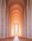 #Grundtvig's Church in Copenhagen Denmark