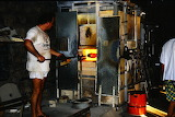 Europe - France - Eze - Glass Maker at Work