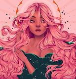 Lotsa Pink hair