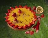 tarte fraise fruit de la passion rhubarbe Pierre Hermé