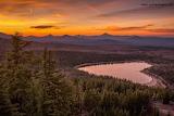 Three Creek Lake in Oregon