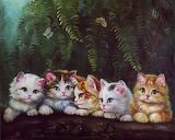Five Adorable Kittens