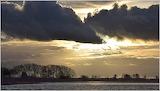 Storm Clouds Over Radardome